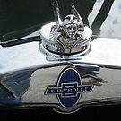 Custom Hoodie on Classic Chevy by Debbie Robbins