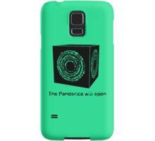 The Pandorica Will Open Samsung Galaxy Case/Skin