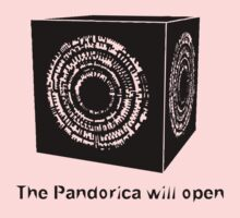 The Pandorica Will Open Kids Clothes