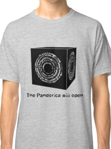The Pandorica Will Open Classic T-Shirt