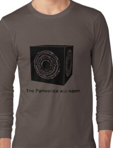 The Pandorica Will Open Long Sleeve T-Shirt