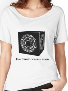 The Pandorica Will Open Women's Relaxed Fit T-Shirt