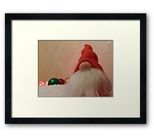 New Santa! Framed Print