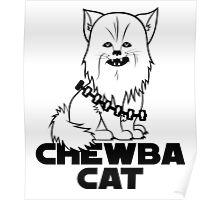 Chewba Cat Poster