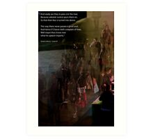 River of Souls Art Print
