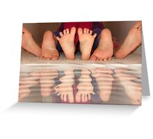 Feet delight Greeting Card