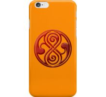 The Seal of Rassilon--Prydonian iPhone Case/Skin