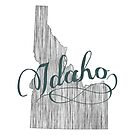 Idaho State Typography by surgedesigns