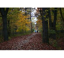 Dog walkers Photographic Print