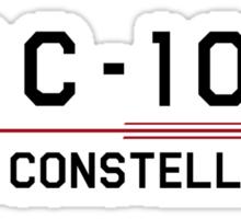 ST Registry Series - Constellation Logo Sticker