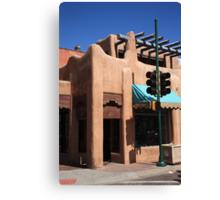 Santa Fe Adobe Shop Canvas Print