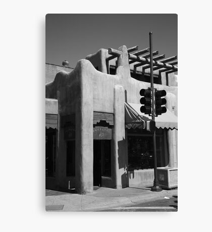 Santa Fe Adobe Shop Canvas Print