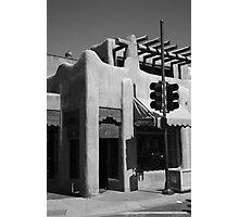 Santa Fe Adobe Shop Photographic Print