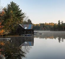 The Farm on Lake Road (Denmark,  Maine) by T.J. Martin
