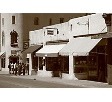 Santa Fe Shops Photographic Print