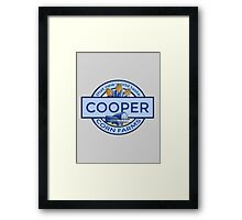Cooper Corn Farms Framed Print