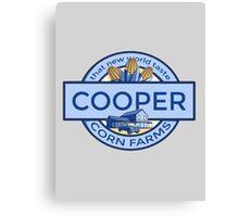 Cooper Corn Farms Canvas Print