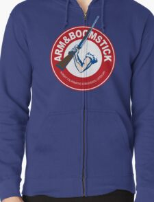 Arm&Boomstick The standard of survival Zipped Hoodie