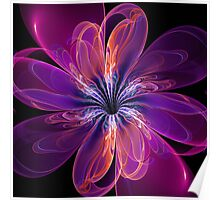 Artificial Flower Poster