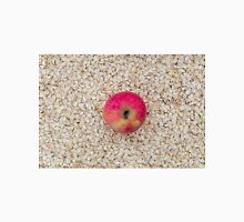 Apple on oatmeal as background Unisex T-Shirt