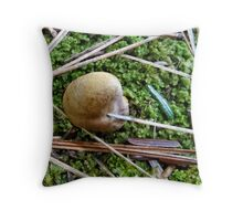 Acupuncture for mushrooms Throw Pillow