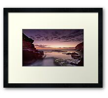 Before the Eruption Framed Print