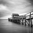 Portsea Pier by Christine  Wilson