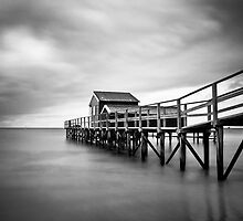Portsea Pier by Christine  Wilson Photography