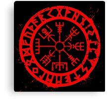 Viking Compass Canvas Print