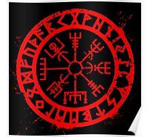 Viking Compass Poster