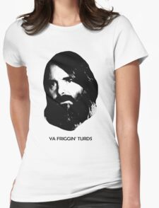 YA FRIGGIN' TURDS Last Man On Earth Phil Miller Womens Fitted T-Shirt