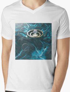 The Polar Polygon Mens V-Neck T-Shirt
