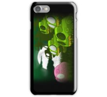 Brain Zombies Scene iPhone Case/Skin