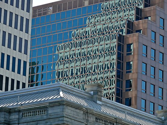 Citizens Bank Reflects a Rival - Providence - Rhode Island by Jack McCabe