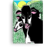 Steve's Cows Canvas Print
