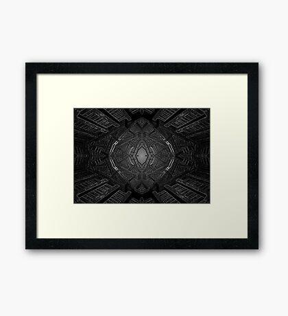 Alien spawning chamber Framed Print