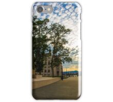 Empty streets of Budapest iPhone Case/Skin