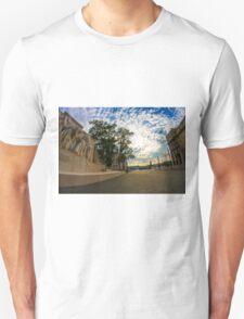 Empty streets of Budapest Unisex T-Shirt
