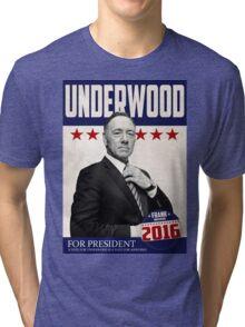 Underwood for President Tri-blend T-Shirt