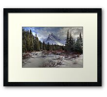 Elbow Pass valley VII Framed Print