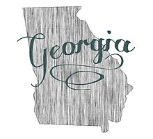 Georgia State Typography by surgedesigns