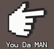 You Da Man One Piece - Short Sleeve