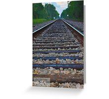 Huntsville, TX. Railroad Greeting Card