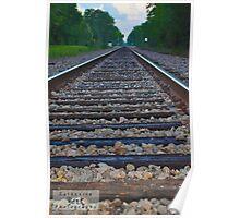Huntsville, TX. Railroad Poster