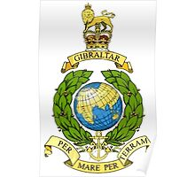Royal Marines Emblem Poster