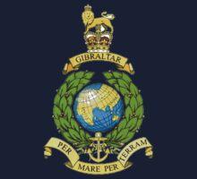 Royal Marines Emblem Baby Tee