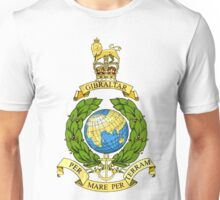Royal Marines Emblem Unisex T-Shirt