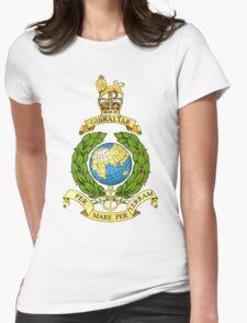 Royal Marines Emblem Womens Fitted T-Shirt