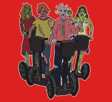 Zombies on Segways Kids Clothes