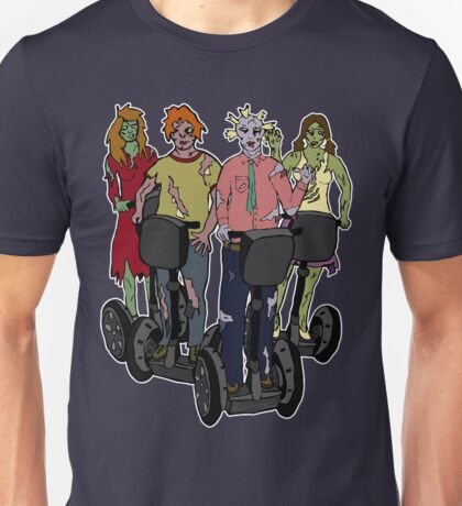 Zombies on Segways Unisex T-Shirt